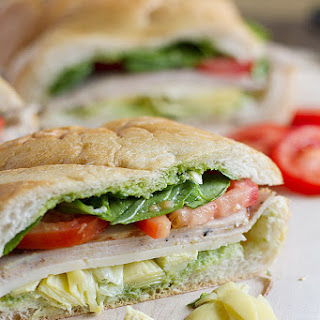 Turkey, Artichoke and Basil Subs.