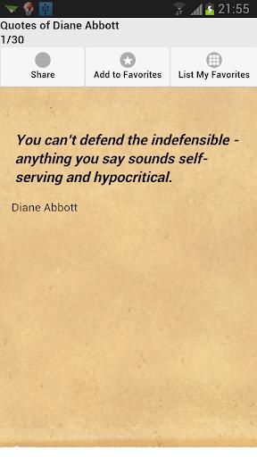 Quotes of Diane Abbott