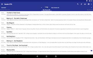 Screenshot of dream EPG Premium