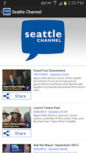 Seattle Channel - screenshot thumbnail