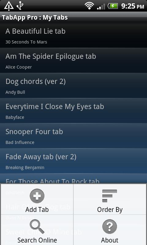 Guitar TabApp - PRO - screenshot