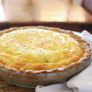 Green Chile Quiche Recipe