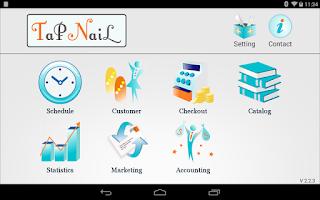 Screenshot of TapNail for Salon / Manicurist