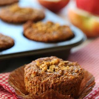 Whole Grain Apple Nut Muffins