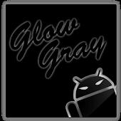 GOKeyboard Theme Glow Gray