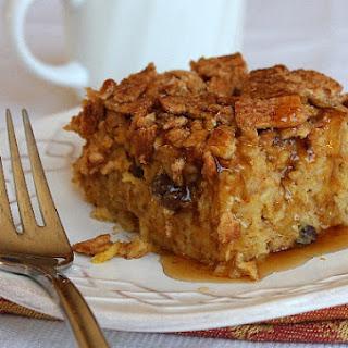 Baked Pumpkin Pie Oatmeal w/ Crunchy Cinnamon Crumbles