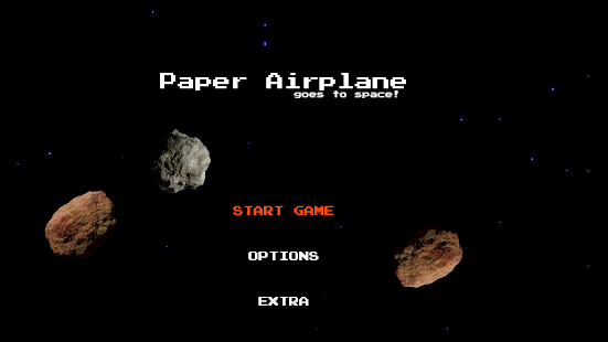 Paper Airplane goes to space screenshot