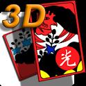 한판맞고 3D logo