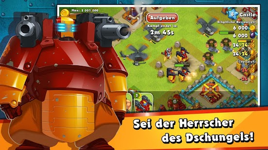 Jungle Heat: War of Clans – Miniaturansicht des Screenshots