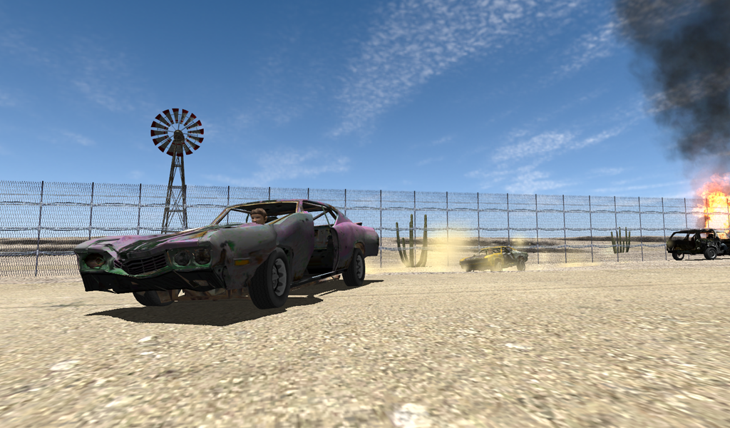 Total Destruction Derby Racing - screenshot