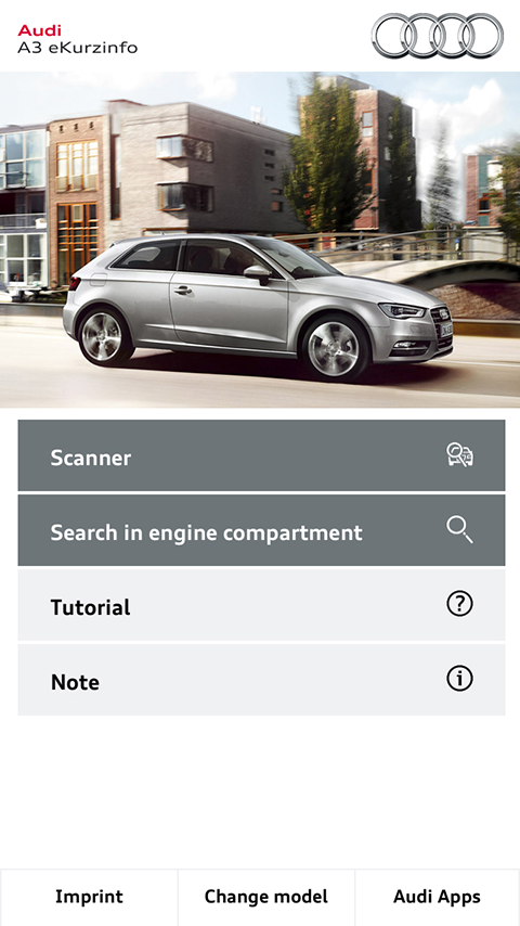 Audi eKurzinfo - screenshot