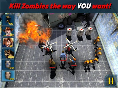 Because Zombies Lite - screenshot thumbnail
