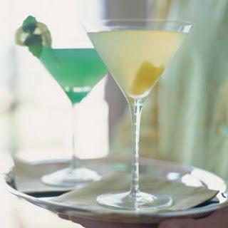 Limoncello Martinis.