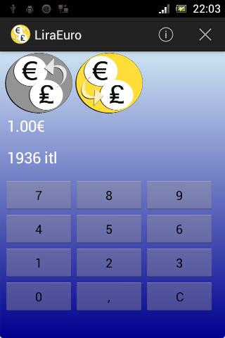 Italian Lira Euro Converter