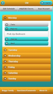 Chore Management - screenshot thumbnail