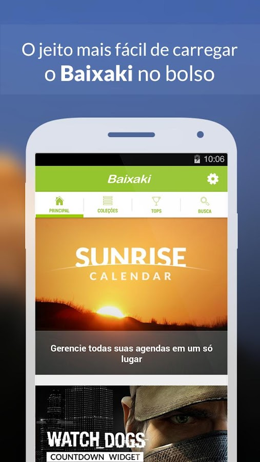 Baixaki: captura de tela