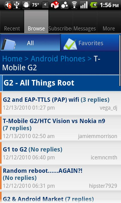 Phandroid (OLD)- screenshot