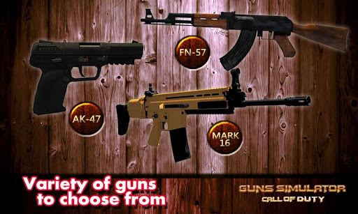 Gun Simulator Black Ops