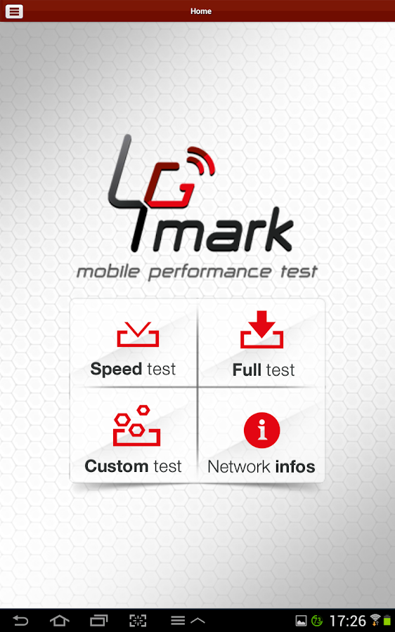 4Gmark (Speedtest & Benchmark) - screenshot