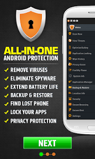 Secure AntiVirus for Android! - screenshot thumbnail