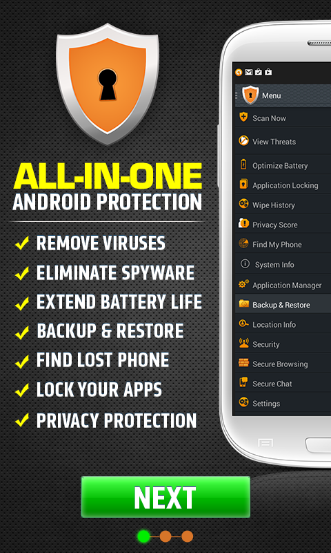 Secure AntiVirus for Android! - screenshot