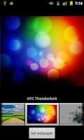 Screenshot of Verizon DROID Wallpapers
