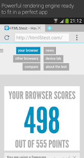 Now Browser (Material) - screenshot thumbnail
