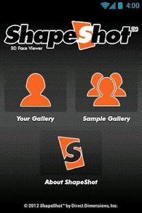ShapeShot 3D Face Viewer- screenshot thumbnail