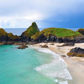 Cornwall by Jamie Tambor - Landscapes Beaches ( england, cliffs, ocean, travel, beach, cornwall,  )