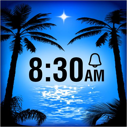 Paradise Island Alarm Clock LOGO-APP點子