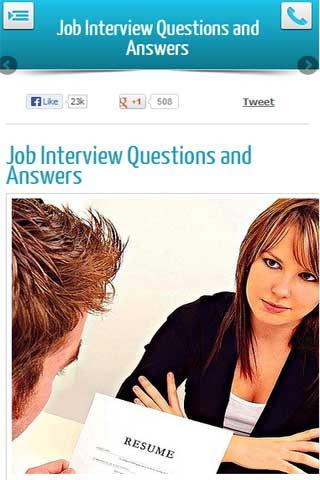 Job Interview Q and As