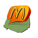 Paris McDonald's + logo