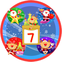 Christmas Sticker Widget Seven icon