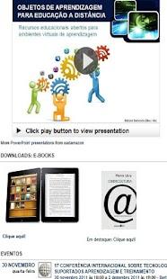 EAD Mobile and E-learning - screenshot thumbnail