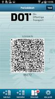 Screenshot of DOT Mobilperiodekort