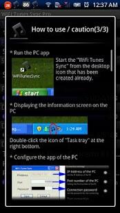 WiFi Tunes Sync Pro- screenshot thumbnail