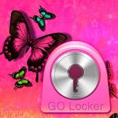 GO Locker Pink Butterfly Buy