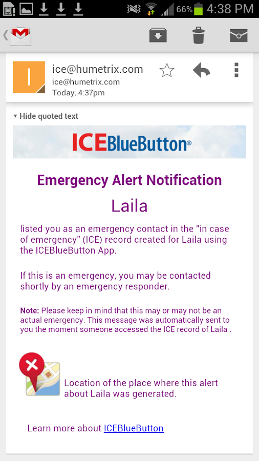 ICEBlueButton- screenshot