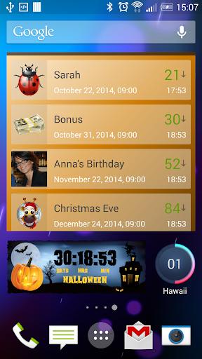 Countdown Days - App Widget