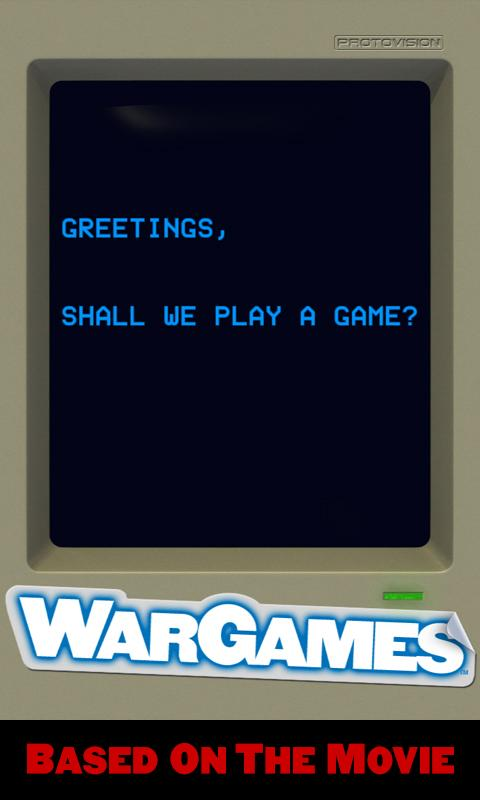 WarGames: WOPR- screenshot