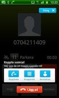 Screenshot of Telenor Koppla Samtal
