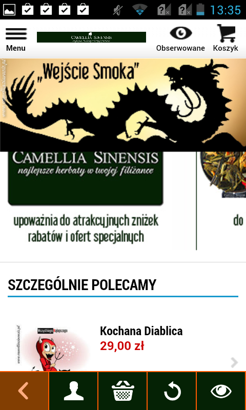 Camellia Sinensis Tea Shop- screenshot