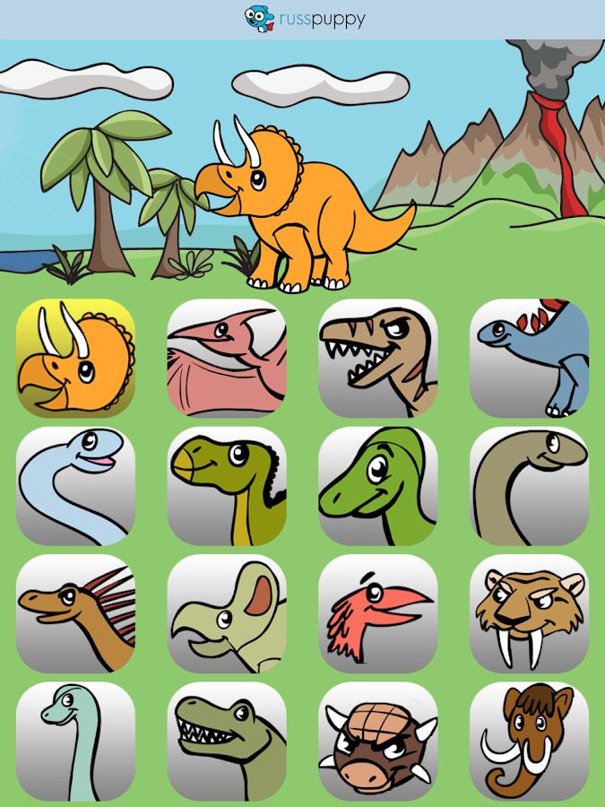 kids dinosaurs screenshot