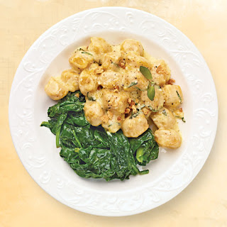 Pumpkin Gnocchi with Sage-Browned Butter Sauce