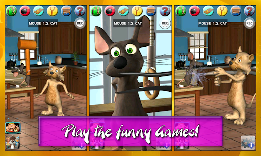 Talking Cat Vs. Mouse - screenshot thumbnail