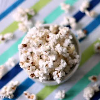 Homemade Honey Popcorn.