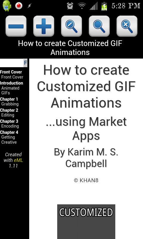 Customized GIF Animations 4.0 - screenshot