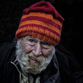 Alan by Karen Shivas - People Portraits of Men ( face, orange, beard, man, hat, Travel, People, Lifestyle, Culture )