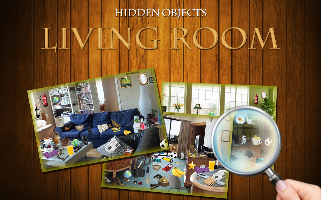 Hidden Objects Livingroom Screenshot