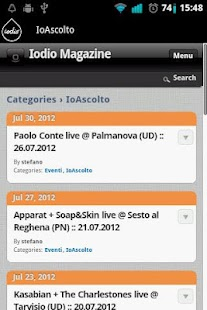 Iodio Magazine - screenshot thumbnail